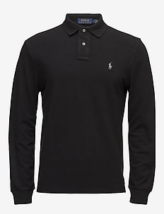 Classic Fit Long-Sleeve Polo - pitkähihaiset - polo black