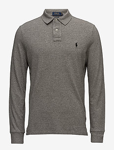 Classic Fit Long-Sleeve Polo - langermede - canterbury heathe