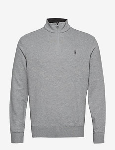 Jersey Half-Zip Pullover - ANDOVER HEATHER