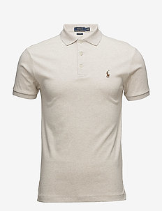 Slim Fit Soft-Touch Polo Shirt - AMERICAN HEATHER