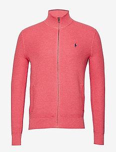 Cotton Full-Zip Sweater - HIGHLAND ROSE HEA