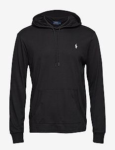 LSPOHOODM2-LONG SLEEVE-KNIT - POLO BLACK