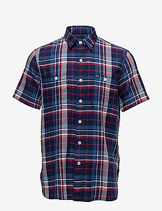 WSLGLSS-SHORTSLEEVE-SPORTSHIRT - 2458 blue multi/red