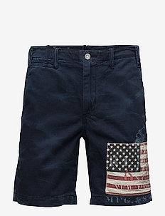 STRAIGHT FIT MARITIME SHORT - AVIATOR NAVY W/ F