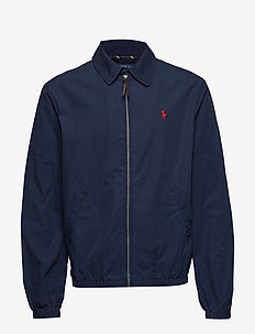 Bayport Cotton Windbreaker - bomberjacken - aviator navy