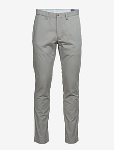 Stretch Slim Fit Cotton Chino - pantalons chino - museum grey