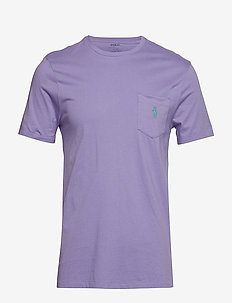 Custom Slim Fit Pocket T-Shirt - HAMPTON PURPLE