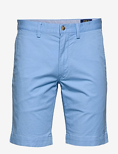 SLIM FIT BEDFORD SHORT - BLUE LAGOON