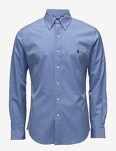 Slim Fit Stretch Cotton Shirt - 2865 BLUE END ON
