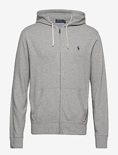 Cotton Spa Terry Hoodie - ANDOVER HEATHER