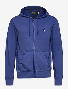 Cotton Spa Terry Hoodie - hoodies - bright navy
