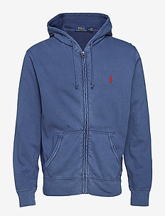 Cotton Spa Terry Hoodie - hettegensere - cruise navy