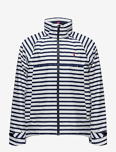 REPELJACKET-UNLINED-JACKET - DECKWASH WHITE/FRENCH NAVY
