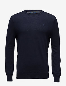 Slim Washable Merino Sweater - pulls col rond - hunter navy