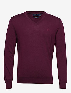 LS SF VN PP-LONG SLEEVE-SWEATER - CLASSIC BURGUNDY
