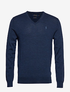 LS SF VN PP-LONG SLEEVE-SWEATER - FEDERAL BLUE HEAT