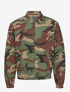 Bayport Camo Windbreaker - vindjakker - surplus camo
