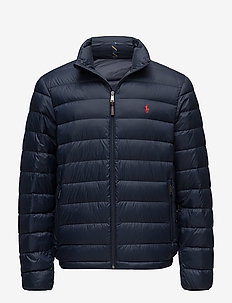 Packable Quilted Down Jacket - AVIATOR NAVY