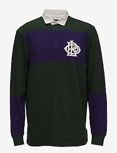 Classic Fit Cotton Rugby Shirt - COLLEGE GREEN/ ME