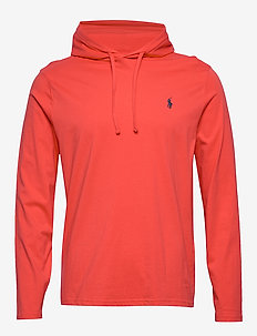 Cotton Jersey Hooded T-Shirt - hettegensere - racing red/c7976