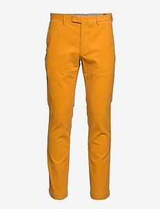 Stretch Slim Fit Corduroy Pant - casual byxor - basic gold