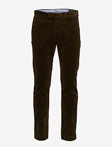 Stretch Slim Fit Corduroy Pant - COMPANY OLIVE