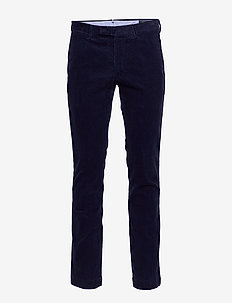 Stretch Slim Fit Corduroy Pant - CRUISE NAVY