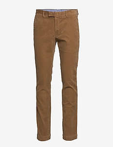 Stretch Slim Fit Corduroy Pant - MONTANA KHAKI