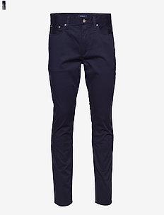 Sullivan-5-Pocket Slim Pant - rennot - collection navy