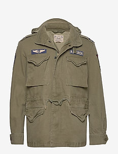 Cotton Twill Field Jacket - leichte jacken - soldier olive w/
