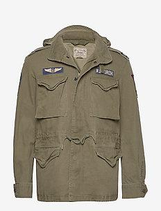 Cotton Twill Field Jacket - light jackets - soldier olive w/