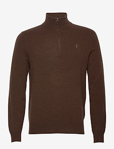 LS HZ PP-LONG SLEEVE-SWEATER - turtlenecks - brown heather