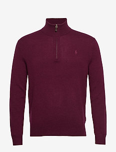 LS HZ PP-LONG SLEEVE-SWEATER - CLASSIC BURGUNDY