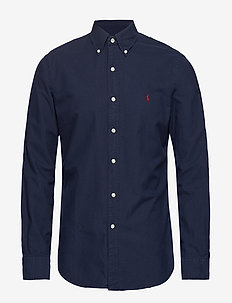 SL BD PPC SP-LONG SLEEVE-SPORT SHIRT - oxford-skjorter - rl navy