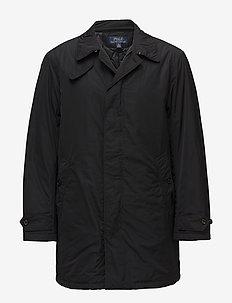 Water-Repellent Coat - POLO BLACK