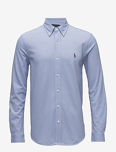 Long Sleeve Shirt - oxford-paidat - harbor island blu