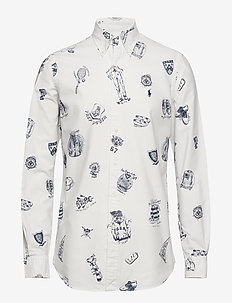 Classic Fit Print Oxford Shirt - 3052 PREPPY ICONS
