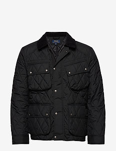Four-Pocket Biker Jacket - POLO BLACK