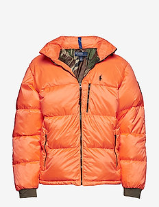 Water-Repellent Down Coat - SHOCKING ORANGE