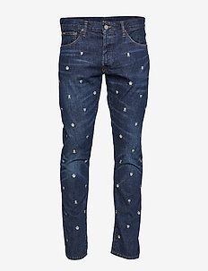 Sullivan Slim Embroidered Jean - WARNER EMB