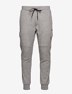 Double-Knit Cargo Jogger - joggingbyxor - battalion heather