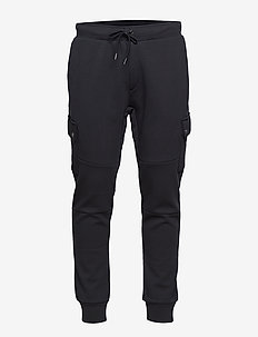 Double-Knit Cargo Jogger - sweatpants - polo black