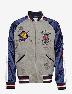 Souvenir Baseball Jacket - BRONX HEATHER MUL