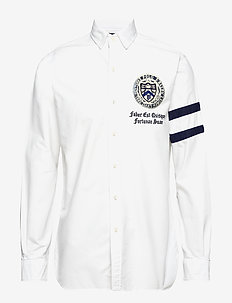 Classic Fit Oxford Shirt - 3059 WHITE RUGBY