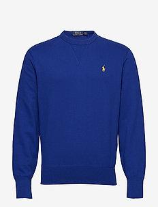 Cotton-Blend-Fleece Sweatshirt - HERITAGE ROYAL