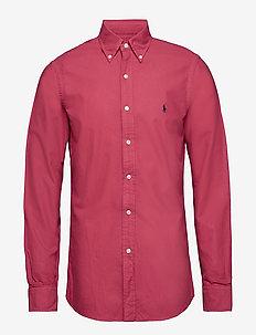 Slim Fit Oxford Shirt - CHILI PEPPER