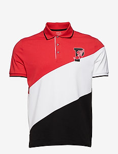 SS POLO M1-SHORT SLEEVE-KNIT - RL 2000 RED/PURE