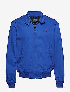 Cotton Twill Jacket - CRUISE ROYAL