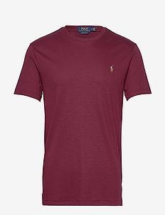 Custom Slim Soft Cotton Tee - basic t-shirts - classic wine