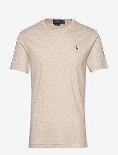 Custom Slim Soft Cotton Tee - basis-t-skjorter - expedition dune h
